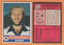 Derby County Archie Gemmill Scotland 315